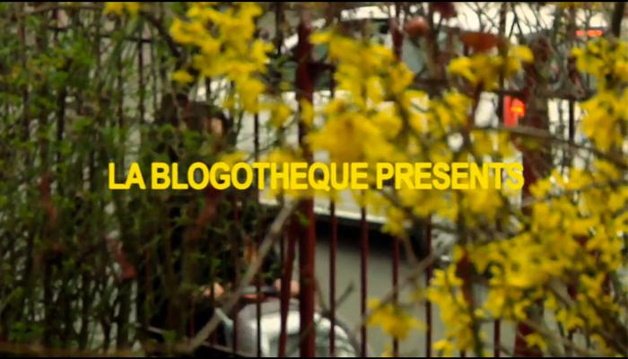'Le Bleu et l'Éther' (A take away show, filmé par La Blogothèque)