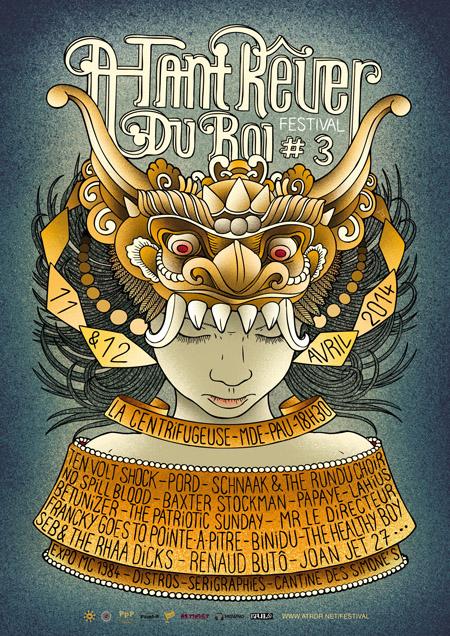 Festival À Tant Rêver du Roi #3 - 2014
