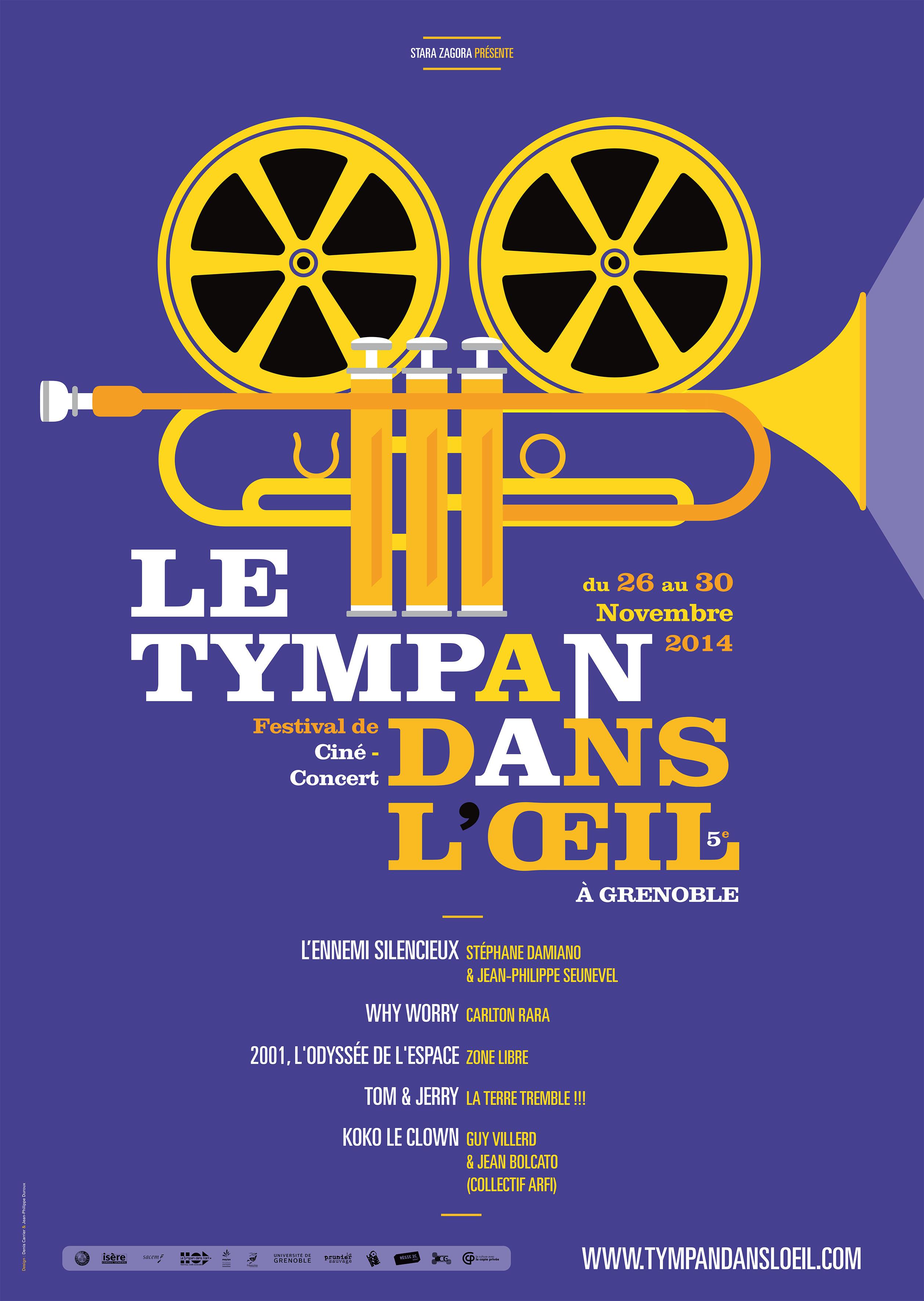 Le Tympan Dans L'Oeil (ciné-cocnert Tom & Jerry) LTT CC
