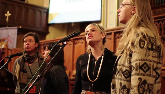'Chelsea Hotel No 2' (Leonard Cohen cover) live at True/False Film Festival (Missouri United Methodist Church Sanctuary, USA, 2015)