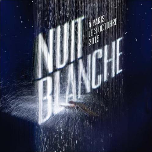 Nuit Blanche Paris 2015 visuel