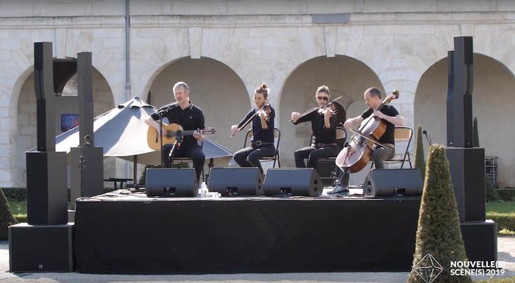 Matt Elliott & VACΛRME live au Cloître de l'hôpital de Niort - Festival Nouvelle(s) Scène(s) 2019